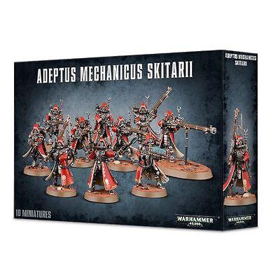 Warhammer 40k Adeptus Mechanicus Skitarii Rangers 10 man squad Brand New unboxed