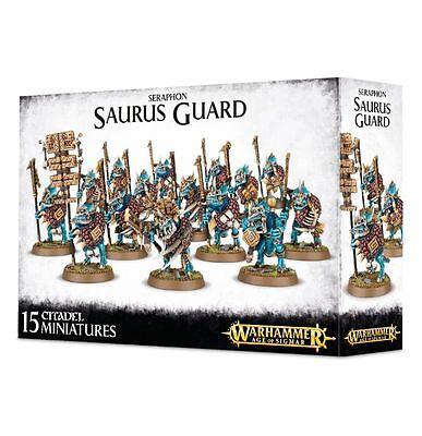 Seraphon Saurus Guard Lizardmen Warriors Temple Warhammer Age of Sigmar NEW