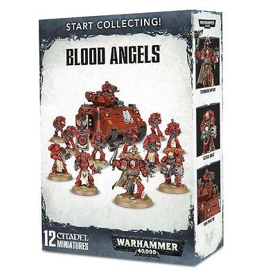 Warhammer 40k  Blood Angels Start Collecting  NIB