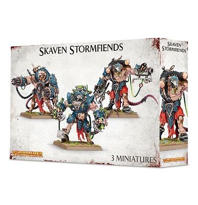 Warhammer Age of Sigmar Skaven Stormfiends NIB