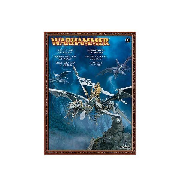 Warhammer High Elf Lord on Dragon - £25ovno