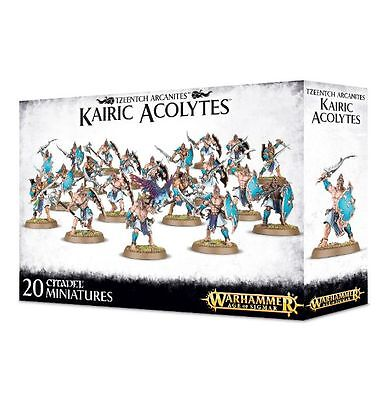 Tzeentch Arcanites Kairic Acolytes Warhammer Age of Sigmar Chaos NEW