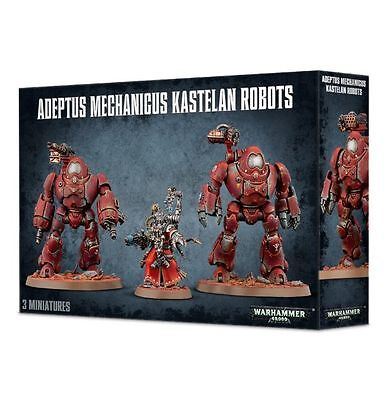 Games Workshop W40k ADEPTUS MECHANICUS KASTELAN ROBOTS