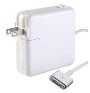 AC Adapter - Apple - 16.5V - 3.65A - 60W - Magsafe 2 Straight Shape Connector Replacement Laptop AC Power Adapter