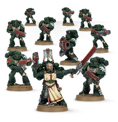 Warhammer 40K Dark Vengeance Dark Angels 10 Man Tactical Squad (65)
