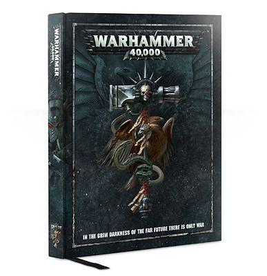 New 8th Edition Warhammer 40k 40,000 sealed hardback rulebook GW Dark Imperium
