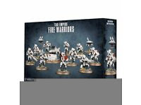 Warhammer 40k Tau Fire Warriors (new in seal)