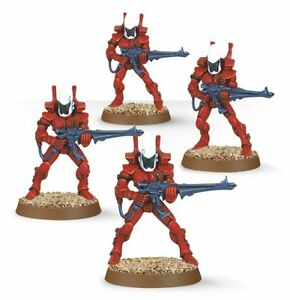 Eldar Guardians and Dark Eldar Warrior (Unpainted)