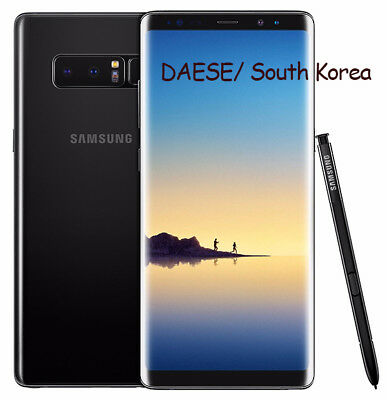 "SAMSUNG Galaxy Note 8 /256GB/ SM-N950N / Black Color / 6.3""Unlocked/ Single Sim"