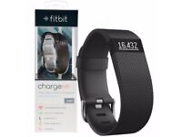 Fitbit Charge HR -Black LARGE. Brand New in Box