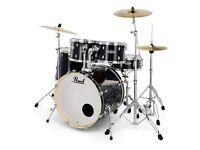 perarl drum kit stool cymbols high hat silencer pads £500 0n0