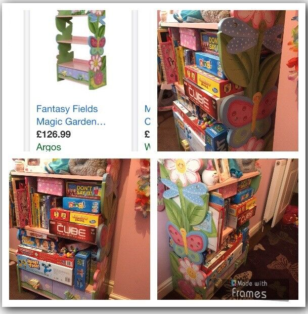 Toy bookcase