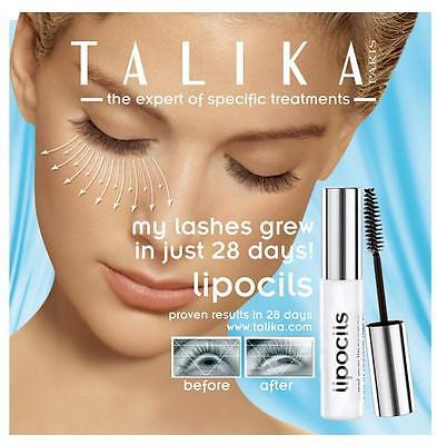 Talika Lipocils Eyelash Conditioning Gel Eyelash Growth 10ml
