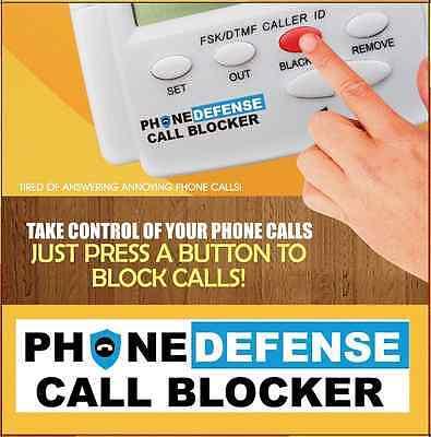PHONE DEFENSE CALL BLOCKER by HQTELECOM
