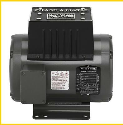R-5 3 Hp - 220 Vac - Phase-a-matic Rotary Phase Converter