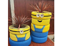 FREE USED TYRES IDEAL FOR GARDEN PLANTERS, KIDS ACTIVITIES, GO KART TRACKS AND MORE