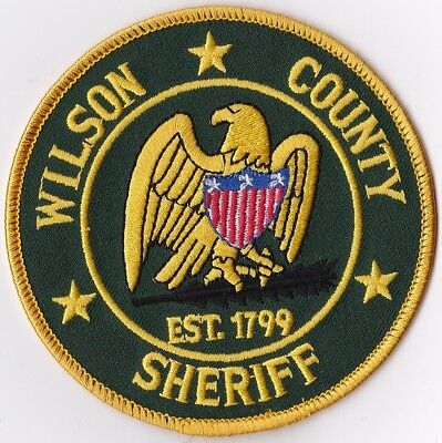 Wilson County Sheriff Lebanon Police Patch Tennessee TN