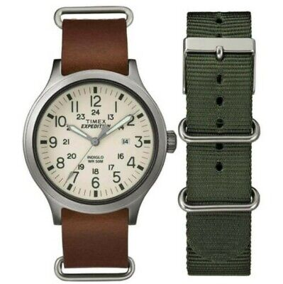 Timex TWG016100 Men's Expedition Scout Cream Dial Quartz Watch