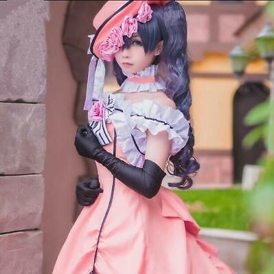 Black Butler Cosplay Damen Ciel Frauen Abendkleid karneval Manga - Ciel Kleid Kostüm