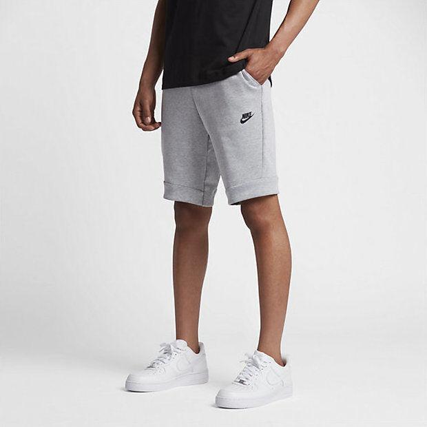 Nike Tech Fleece Shorts Grey Shop Clothing Shoes Online