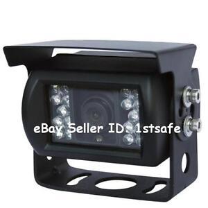 Tractor camera rear view