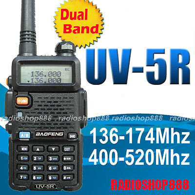 BAOFENG UV-5R UU 136-174 / 400-520Mhz Dual Band UHF/VHF Radio + earpiece  on Rummage