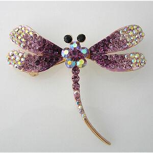 Dragonfly-Brooch-Pin-W-Swarovski-Crystals-P034