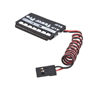 RC Model 7 LED Receiver Battery Voltage Indicator Monitor Car auto 7led 4.8v 6v