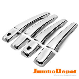 OUTLANDER LANCER 2002-2006 CHROME DOOR HANDLE COVER NEW NEUF