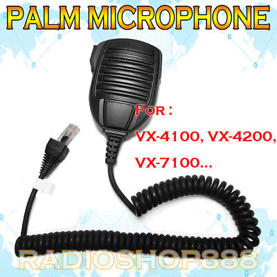 MICROPHOE FOR Yaesu/Vertex Radio FT-450 FT-900 FT-817ND FT-857D FT-897D MH67A8J for sale  Shipping to Canada