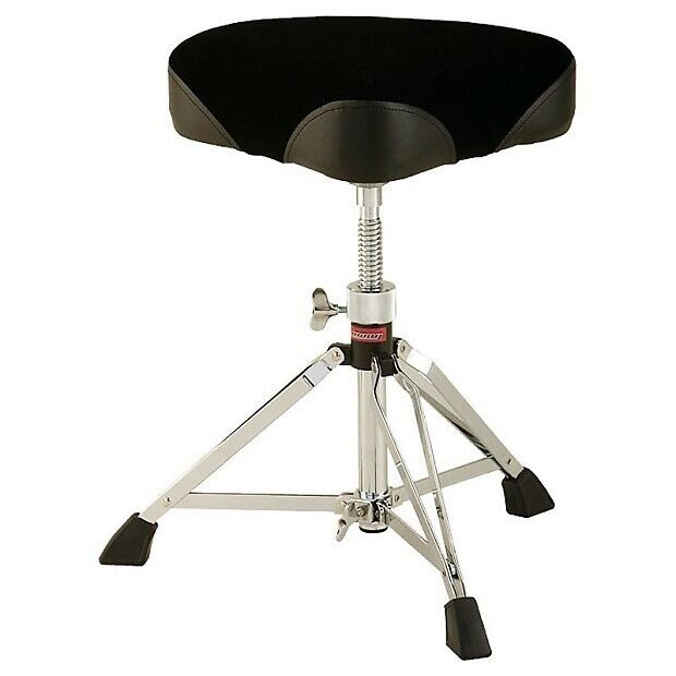 NEW - Ludwig Double-Brace Saddle Seat Drum Throne - L349TH