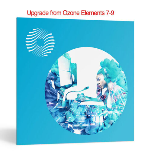 iZotope Ozone 9 Standard Mastering System upgrade from Elements