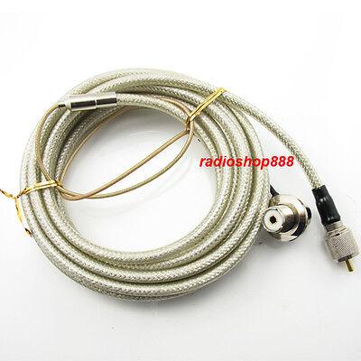 NAGOYA RC-5MS PL-259 SO-239 Antenna Extension Cable for Car Radio Motorola Yaesu