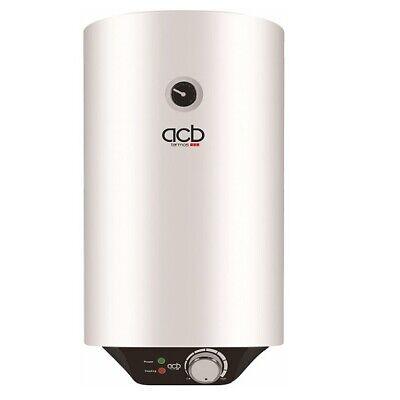 Termo Calentador Acumulador agua eléctrico vertical 80 Litros ACB TN80V