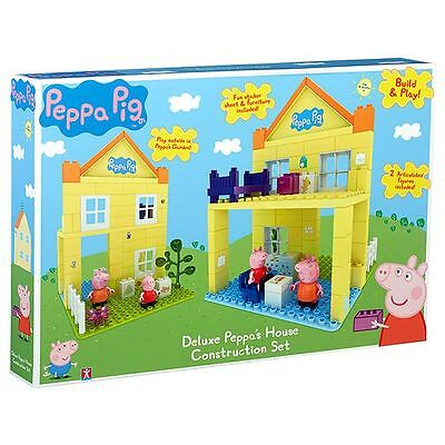 PEPPA PIG Deluxe Peppa's House Construction Set