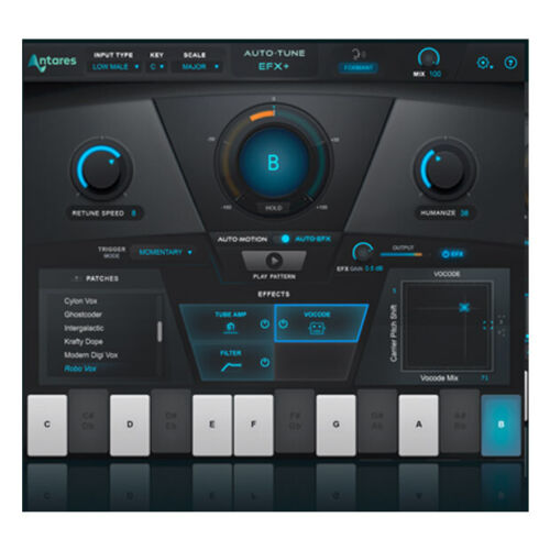 Antares Auto-Tune EFX + pitch correct software download