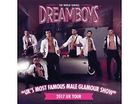 3 tickets for sale for Dreamboys, 19th June - £60