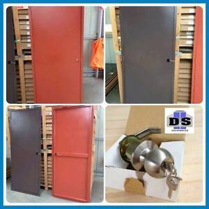 Personal Access Doors , Shed Door With Lock, Colorbond Shearwater Latrobe Area Preview