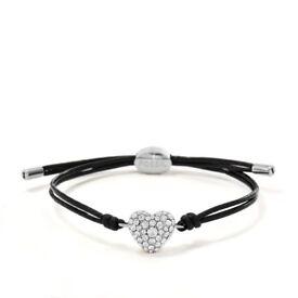 Fossil Glitz Heart Bracelet