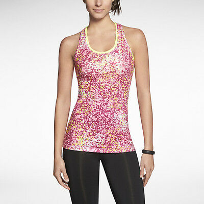 Nike Printed Top Camiseta Tirantes Running Training Mujer