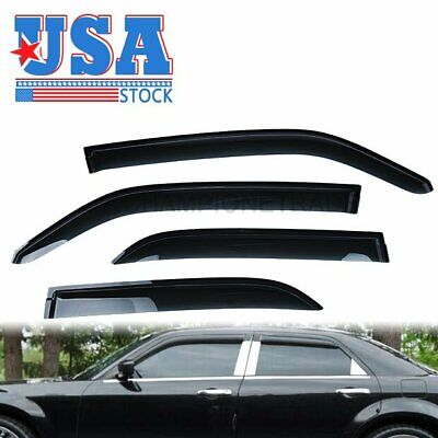 US Window Vent Visor Sun Rain Guard For 05-10 Chrysler 300 05-08 Dodge Magnum