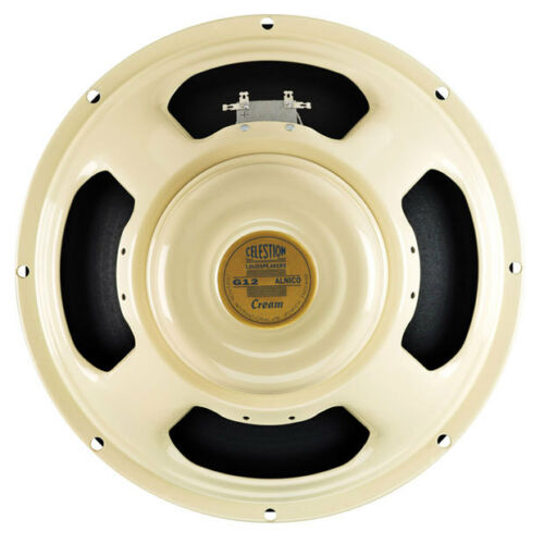 "CELESTION CREAM 12"" ALNICO 90W GUITAR SPEAKER 8 OHM"