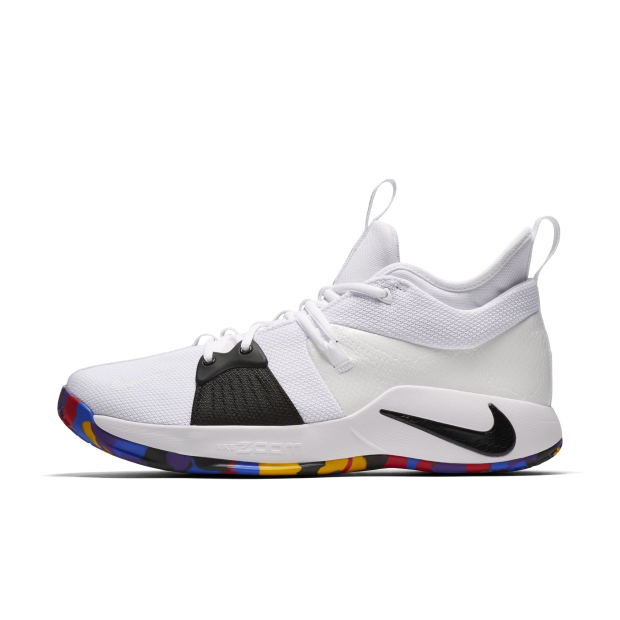 online retailer c93d4 afbe7 Details about Nike Men PG 2 TS EP Basketball Shoe Paul George NCAA White  AJ5164-100 US7-11 04'
