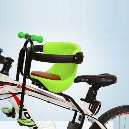 Fahrrad Sicherheits-Kindersitz Halterung , Baby Fahrrad Sitz Vorne, Rot / Grün