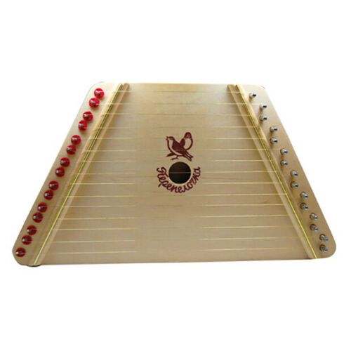 The Music Maker Melody Harp - Award Winning Lap Harp/Zither with 12 Song Sheets