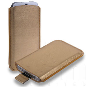 12 COLOURS CUSTOM FITTED SOFT LEATHER POUCH CASE COVER FOR VARIOUS MOBILE PHONES