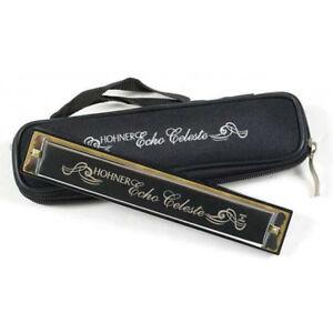 Hohner 455 Echo Celeste Tremolo Harmonica w/ Case - Key of C