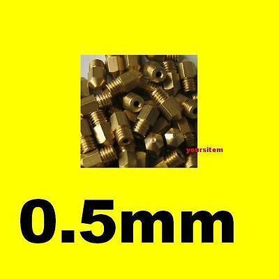 0.5mm Extruder Nozzle Print Head Hot End For 3d Printer Mk8 Makerbot Reprap Diy