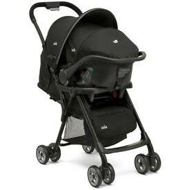 Joie Juva Travel System. Car seat & Isofix base included. Pram
