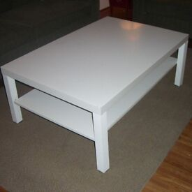 IKEA coffee table - LACK - white
